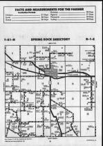 Spring Rock T81N-R1E, Clinton County 1990 Published by Farm and Home Publishers, LTD